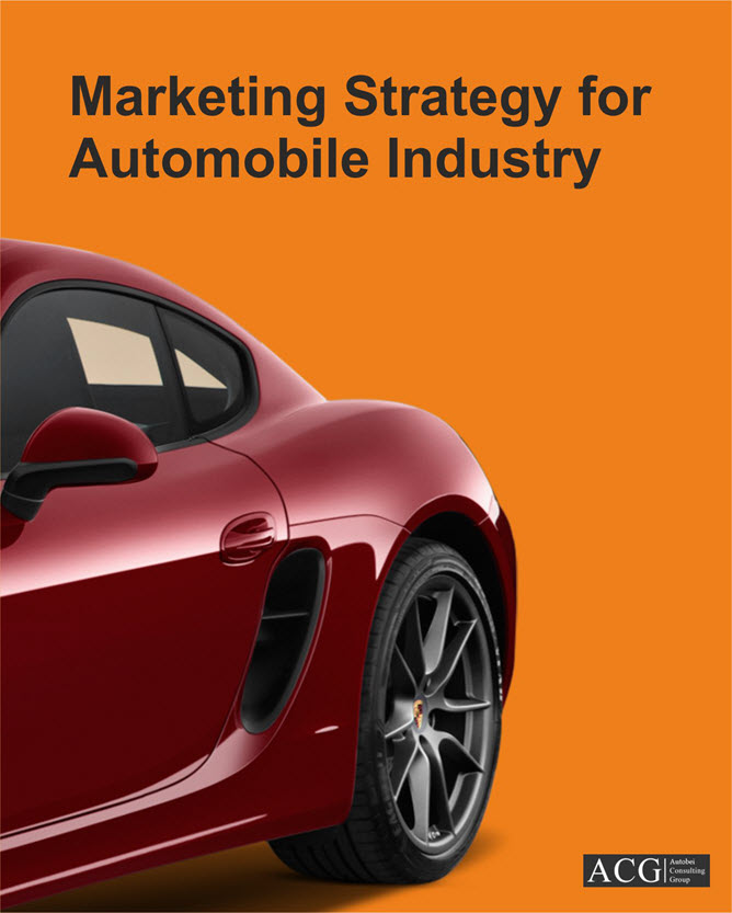 a target market analysis of the automobile industry Quick and dirty auto repair auto repair service business plan market 40 market analysis summary market segmentation target market and parking industry.