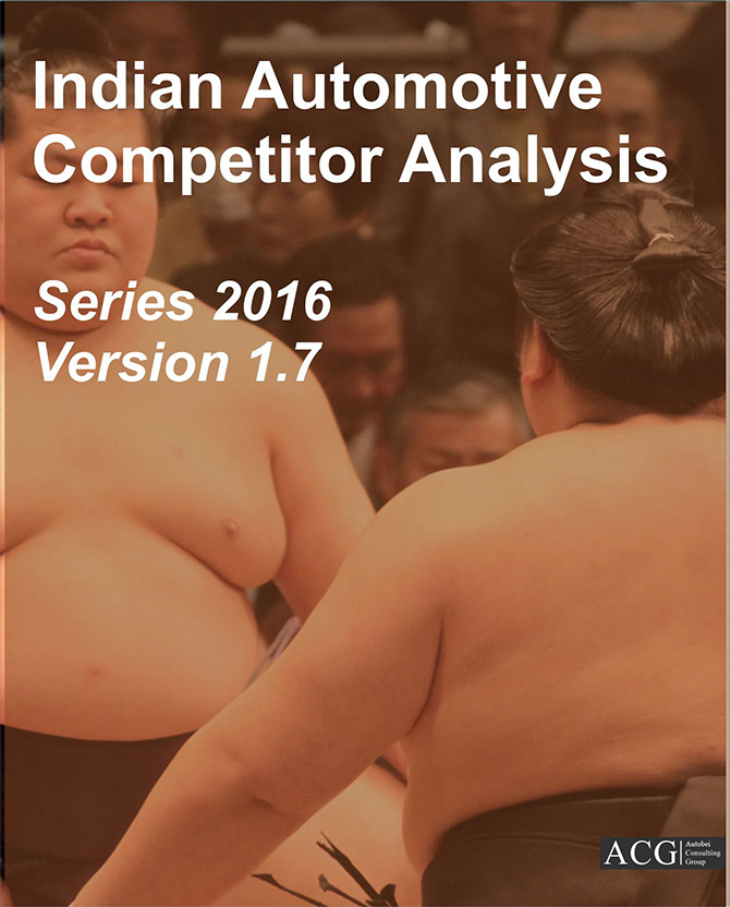 Indian Automotive Competitor Analysis 2016