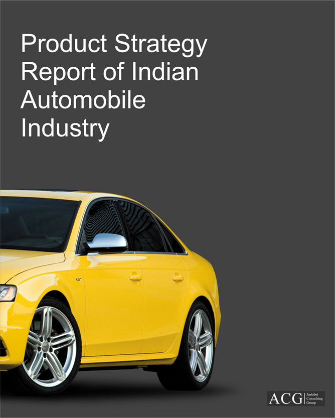 Product Strategy Report of Indian Automobile Industry
