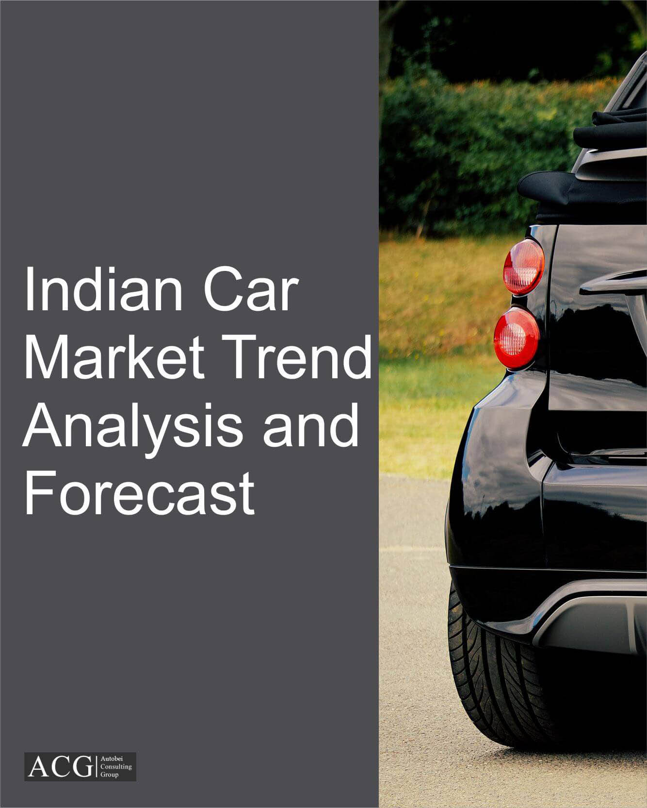 Indian Car Market Trend Analysis and Forecast
