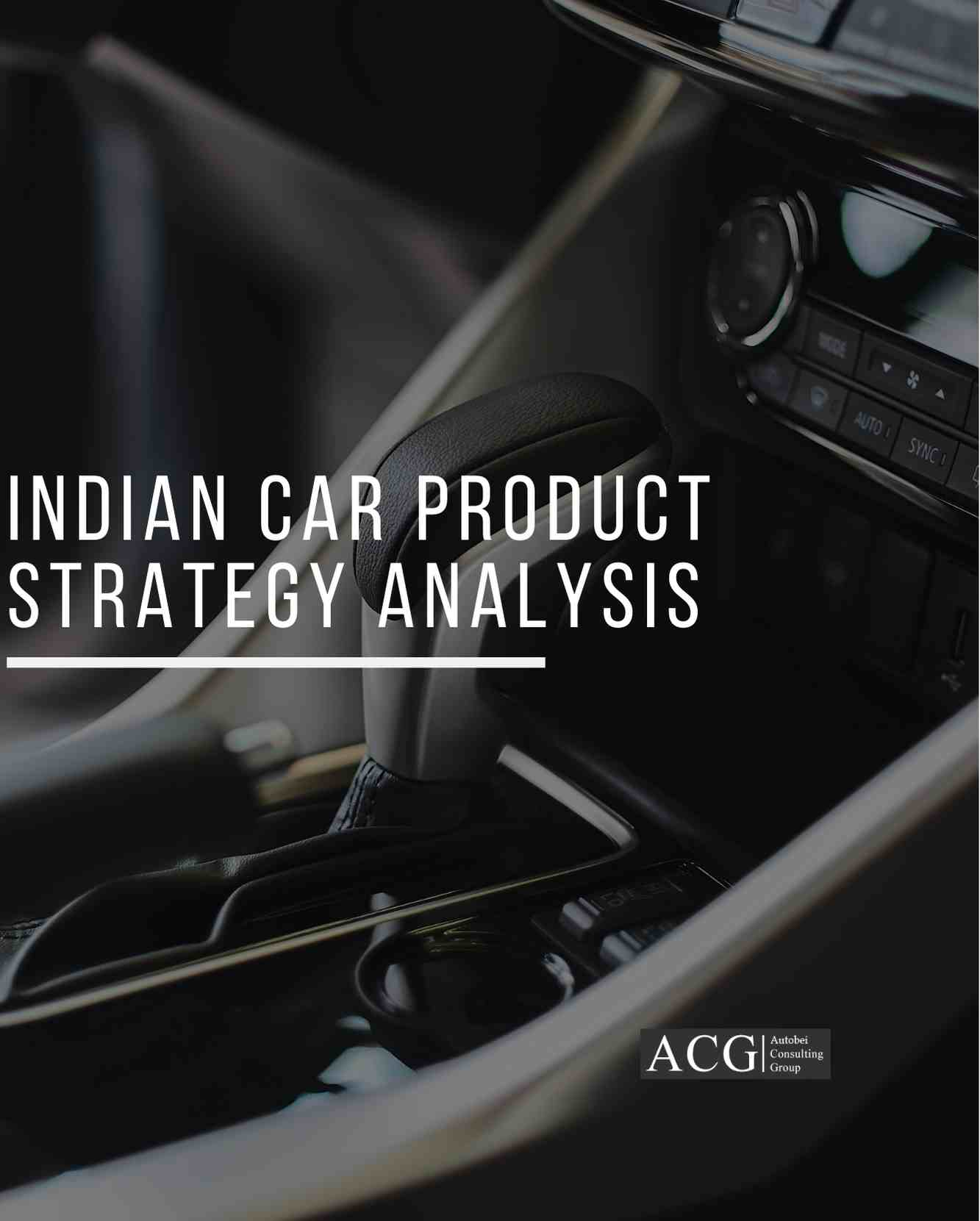 Indian Car Product Strategy Analysis