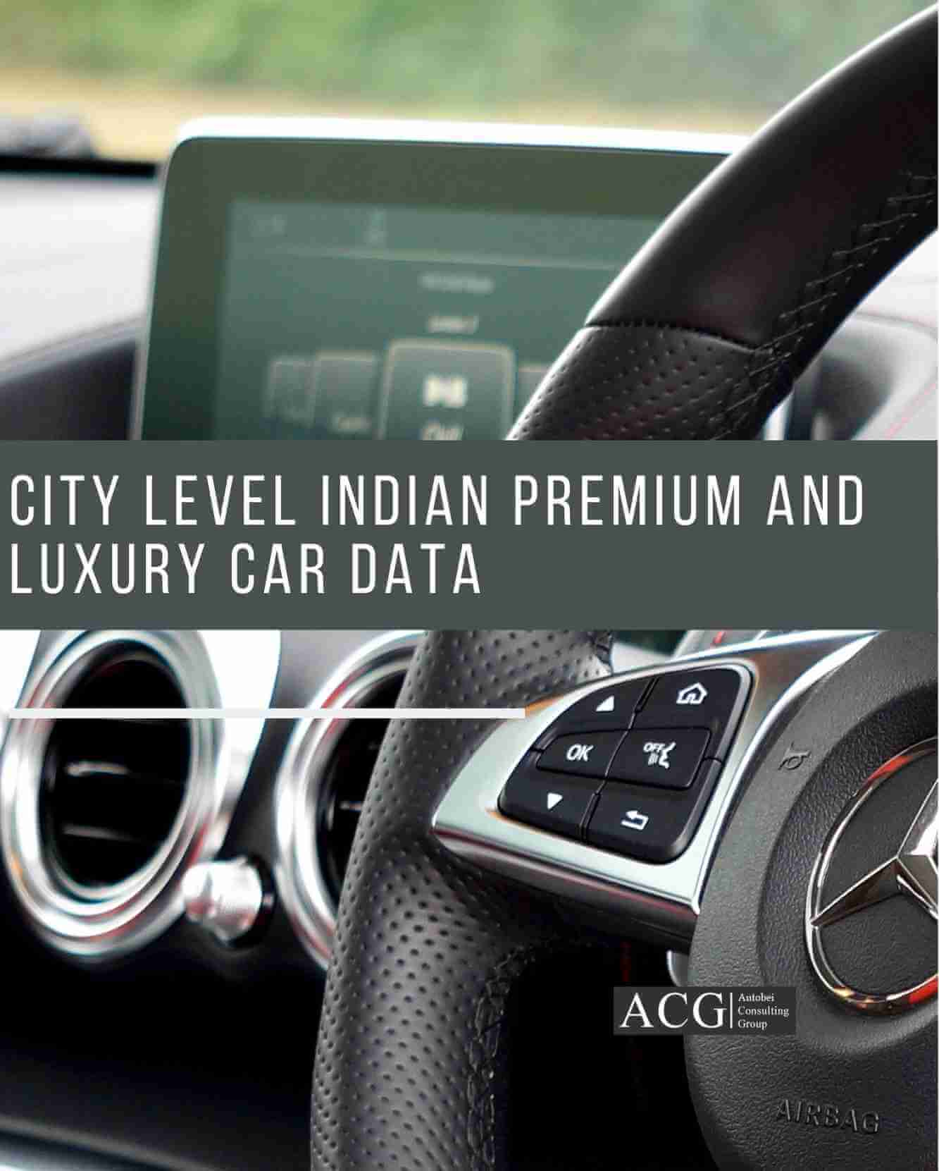 City level Indian Premium and Luxury Car and SUV Data