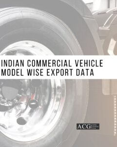 Indian Commercial Vehicle Model wise Export Data