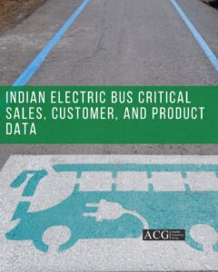 Indian Electric Bus Critical sales and product Data