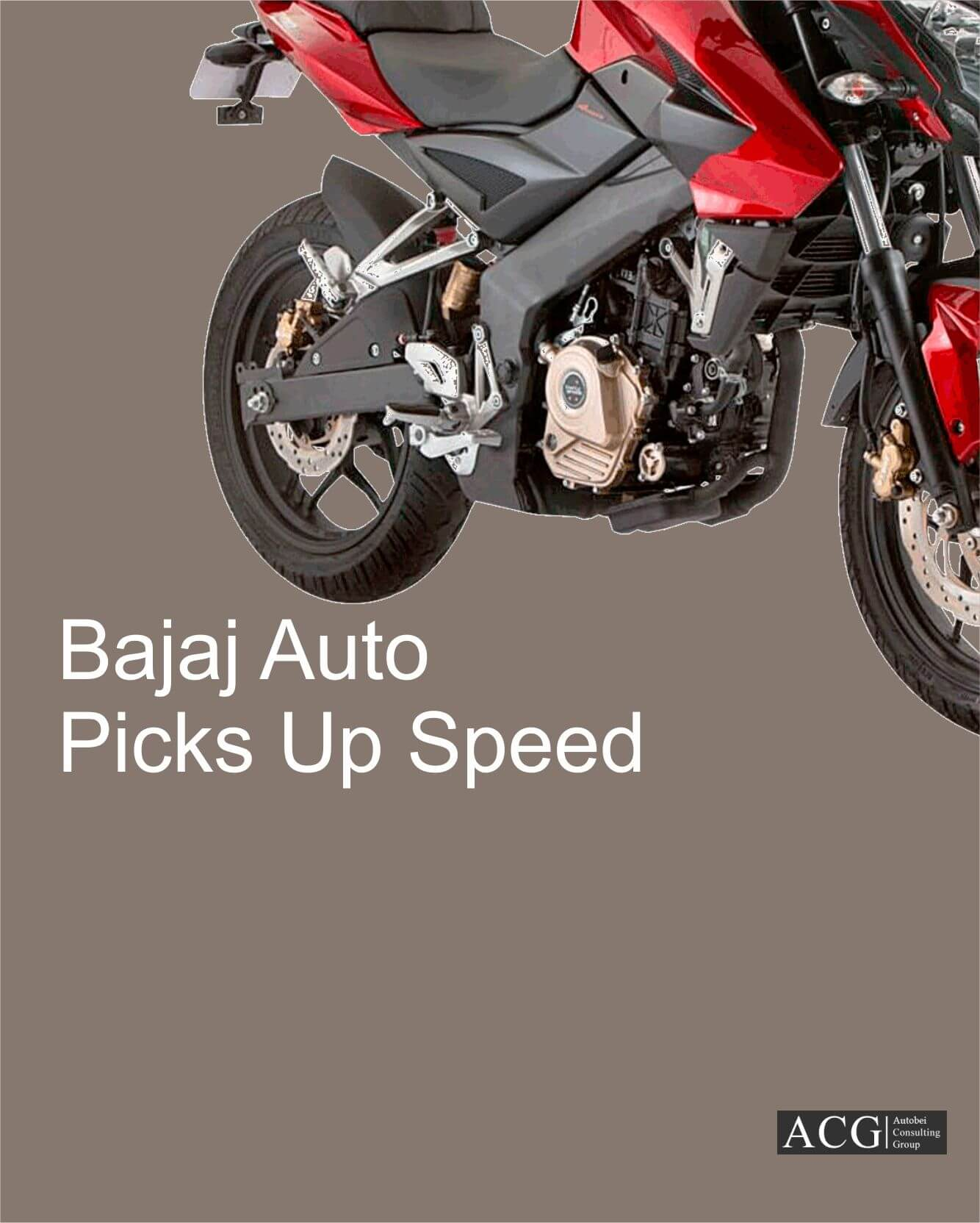 Bajaj Auto Picks Up Speed