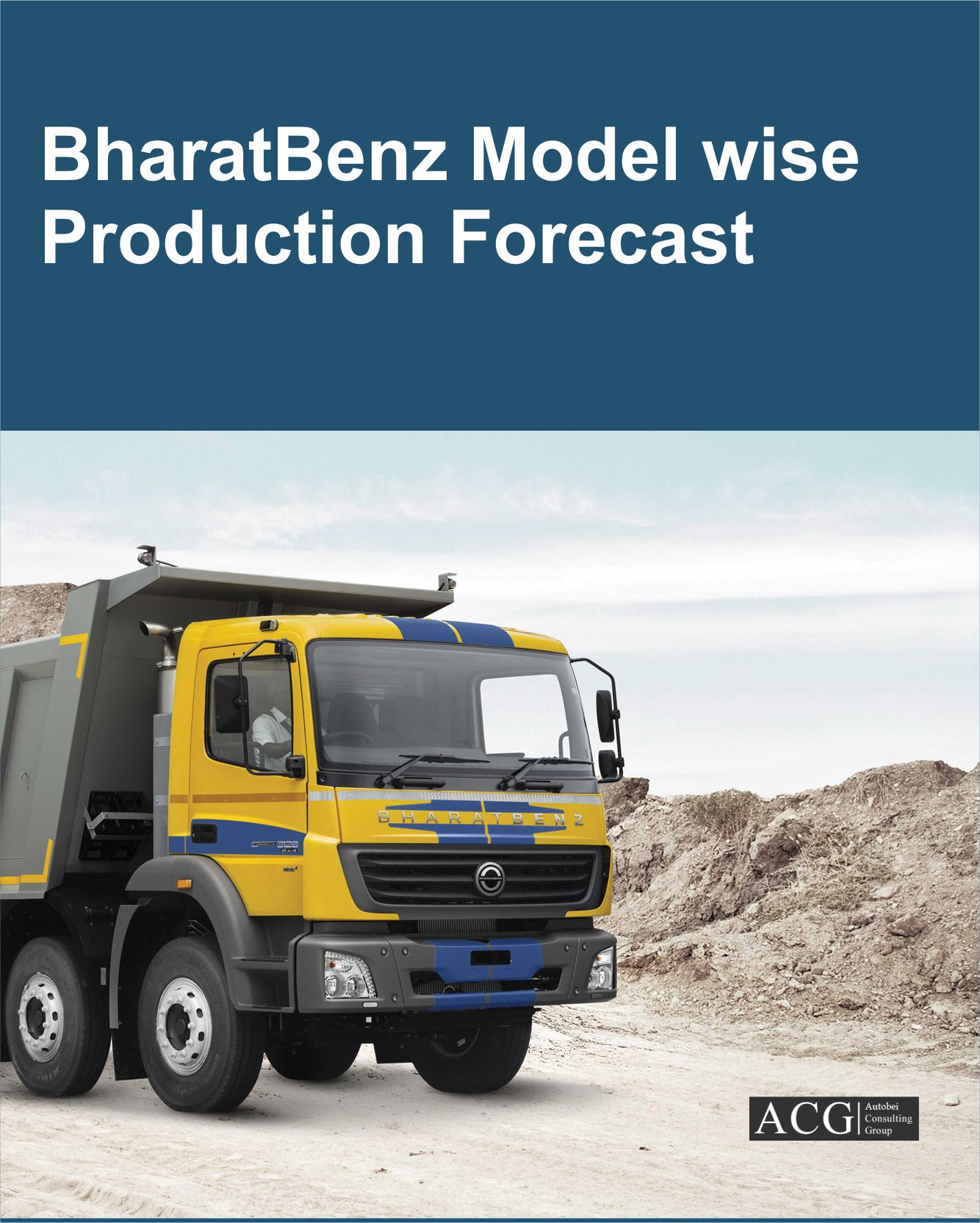 BharatBenz Model wise sales and Production Forecast