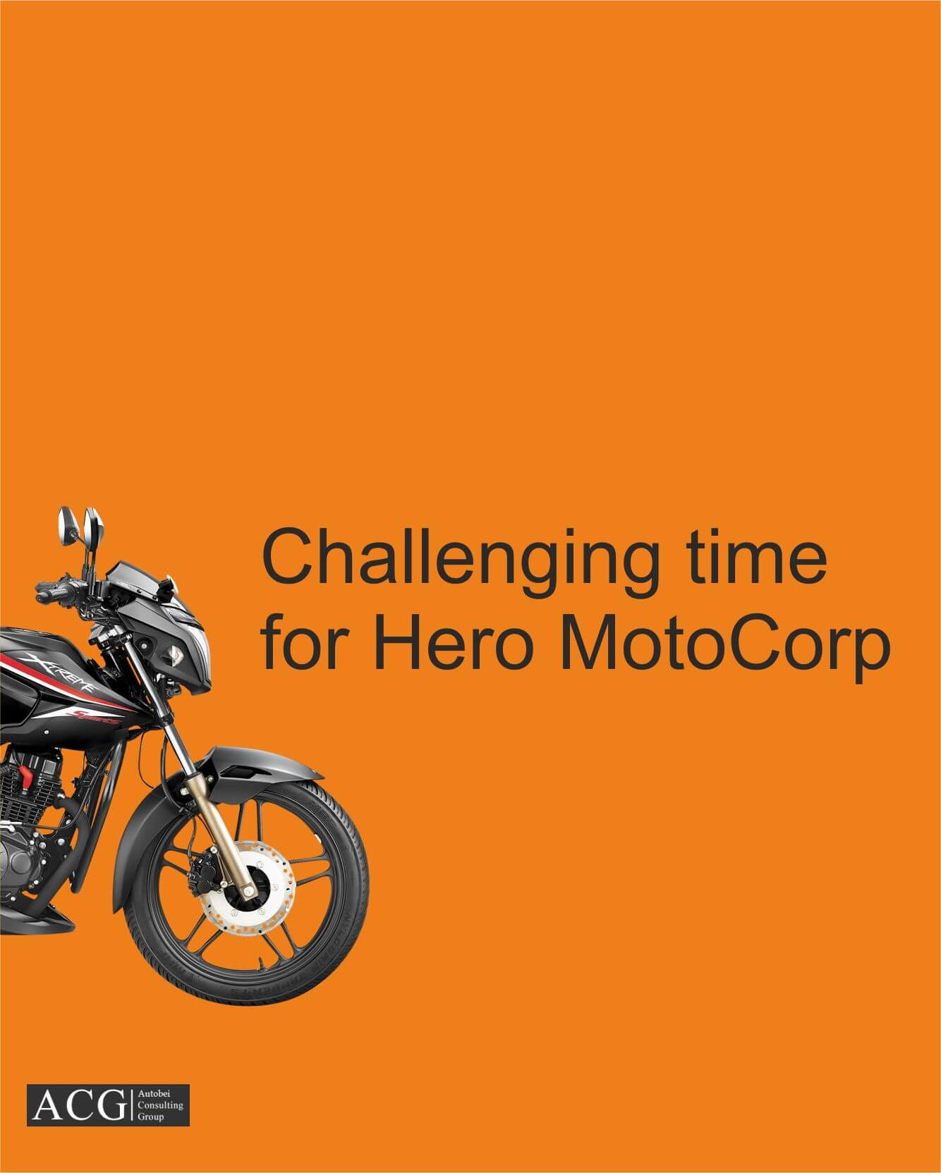 Challenging time for Hero MotoCorp