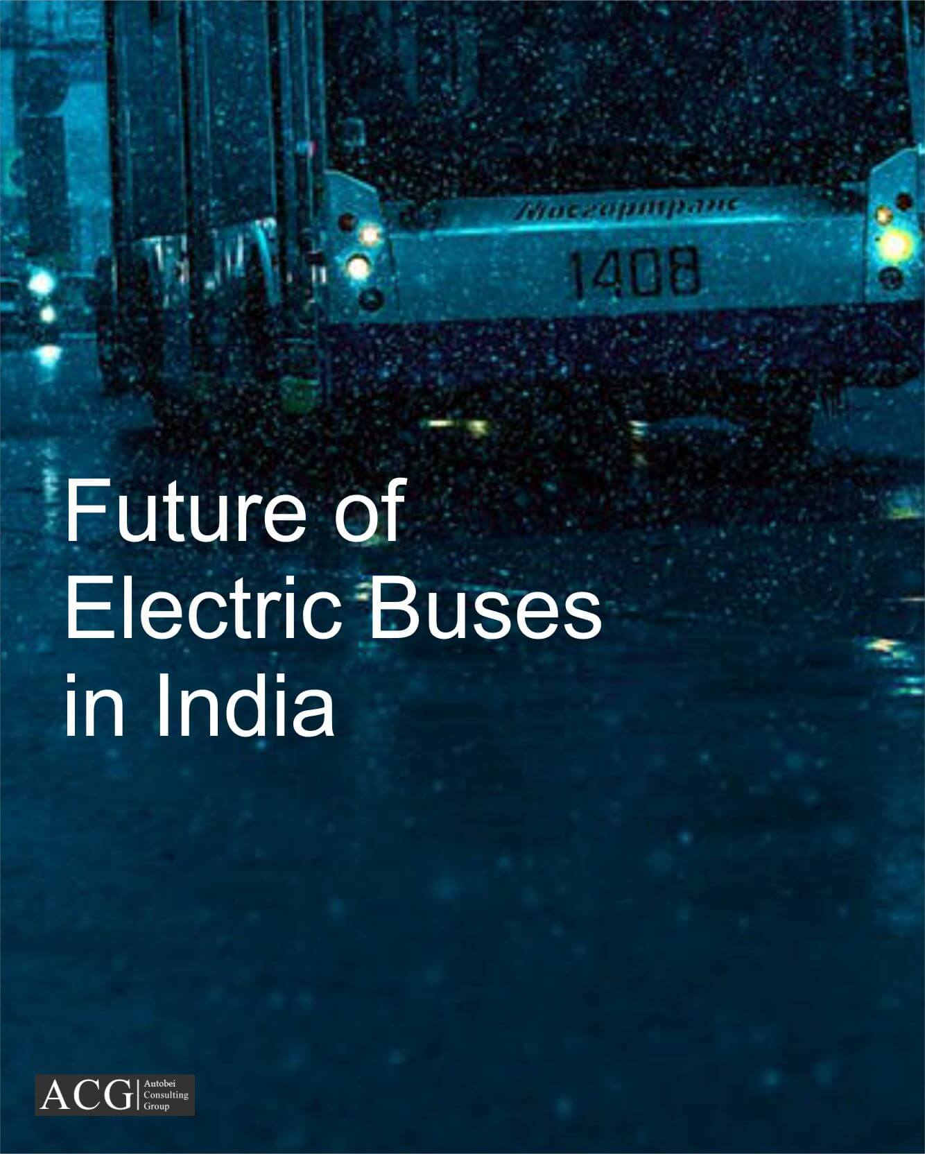 Future of Electric Buses in India