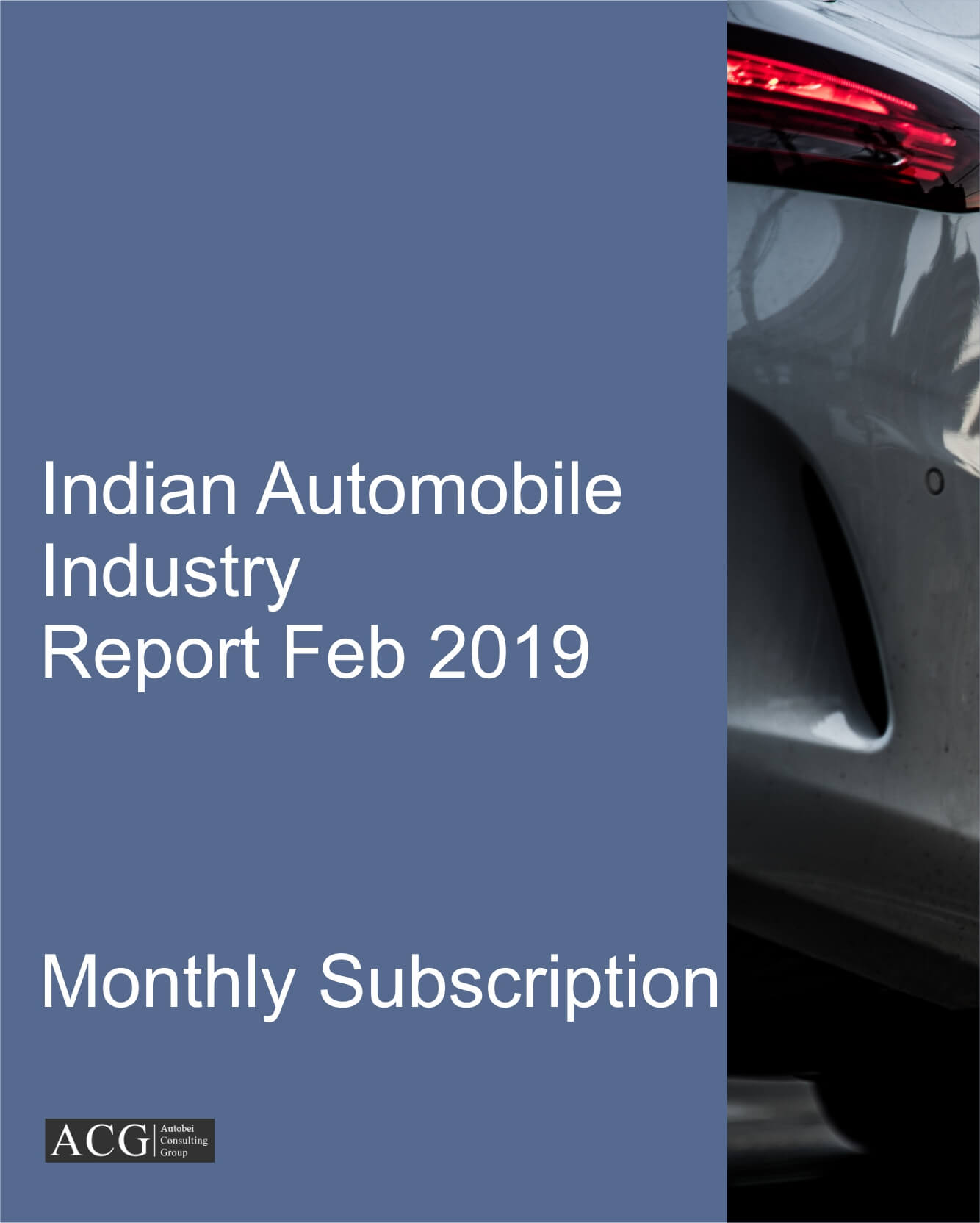 Indian Automobile Market Research Report Feb 2019