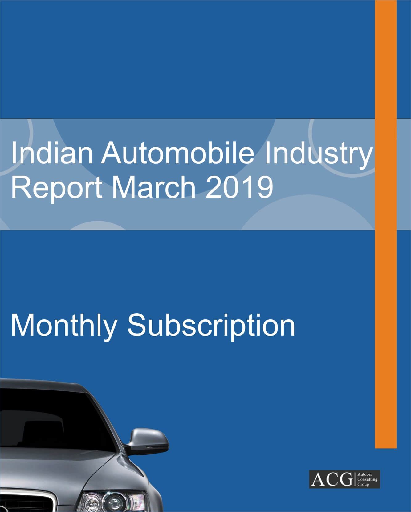 Indian Automobile Market Study March 2019