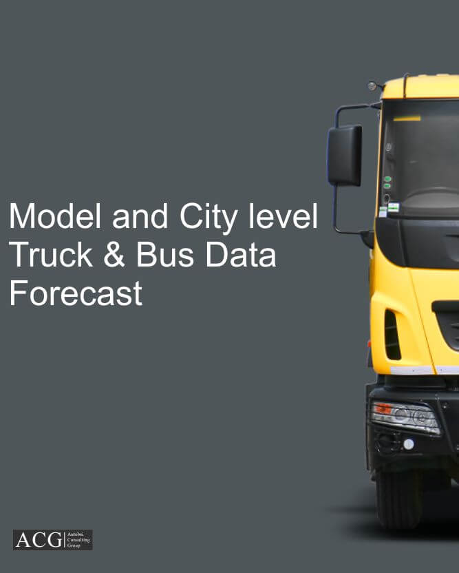 Model and City level Truck & Bus Data Forecast