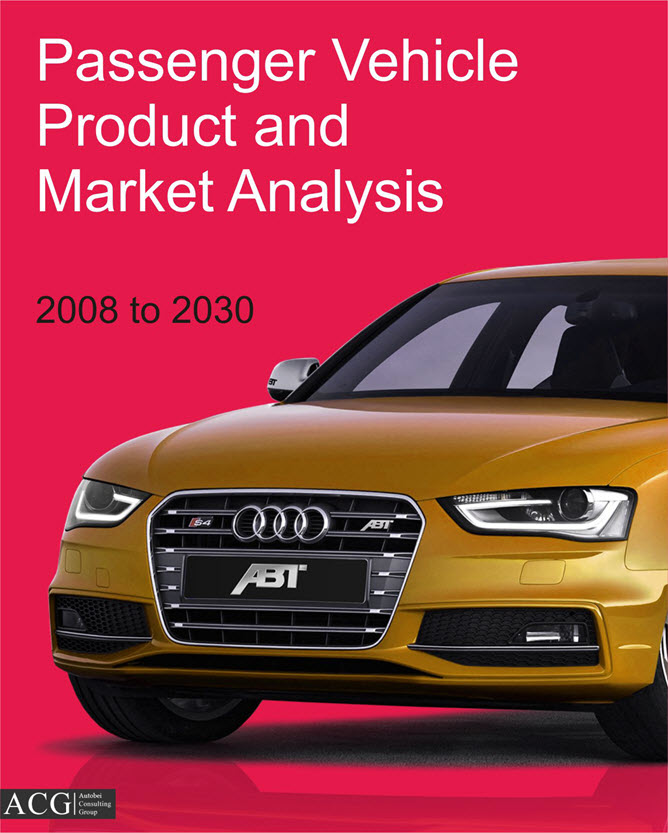 Passenger Vehicle Product and Market Analysis forecast 2030