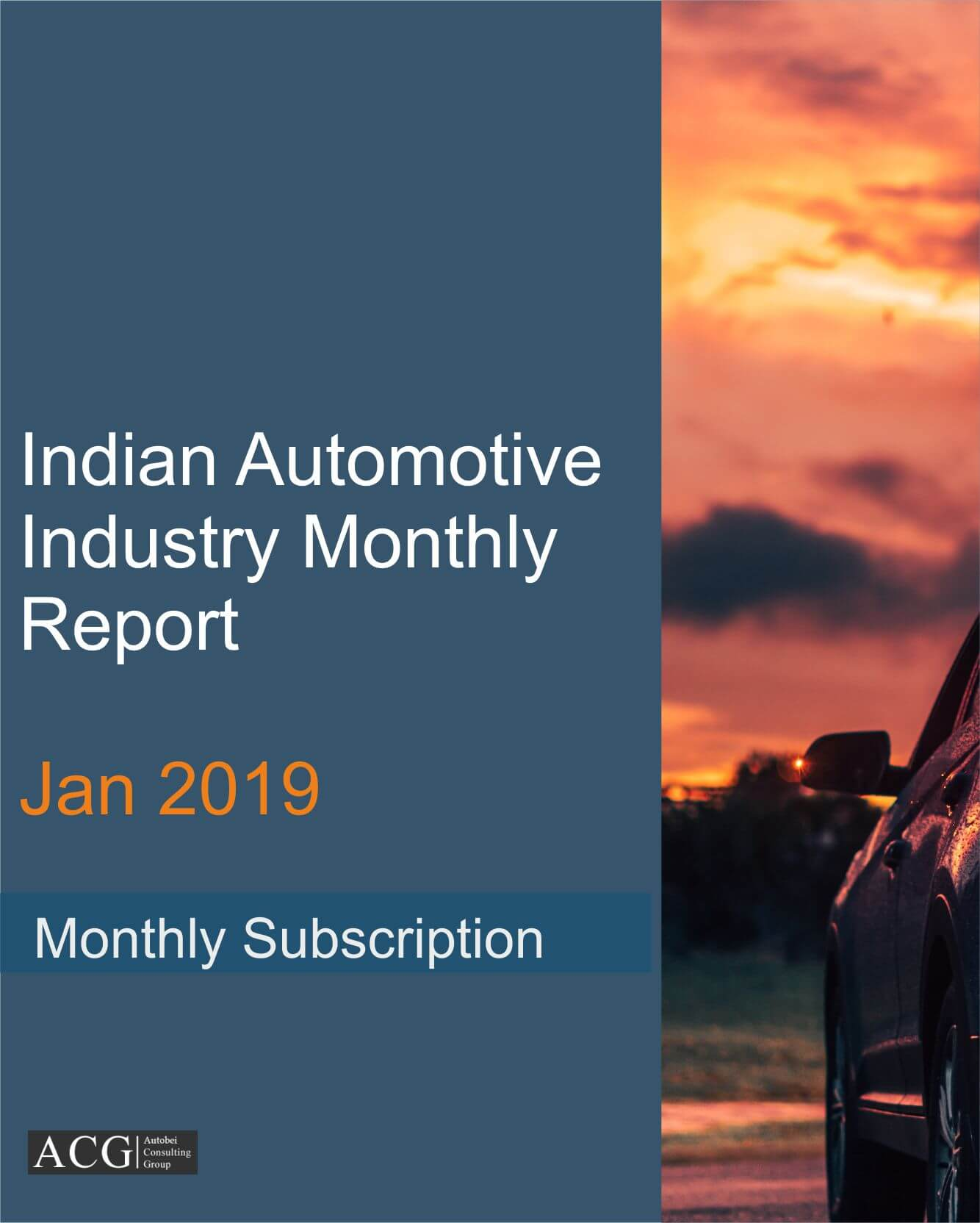 Recapitulation of Indian Automotive Industry Jan 2019