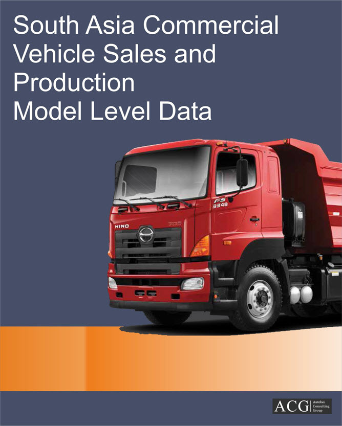 South Asia Commercial Vehicle Sales and Production Model level Data
