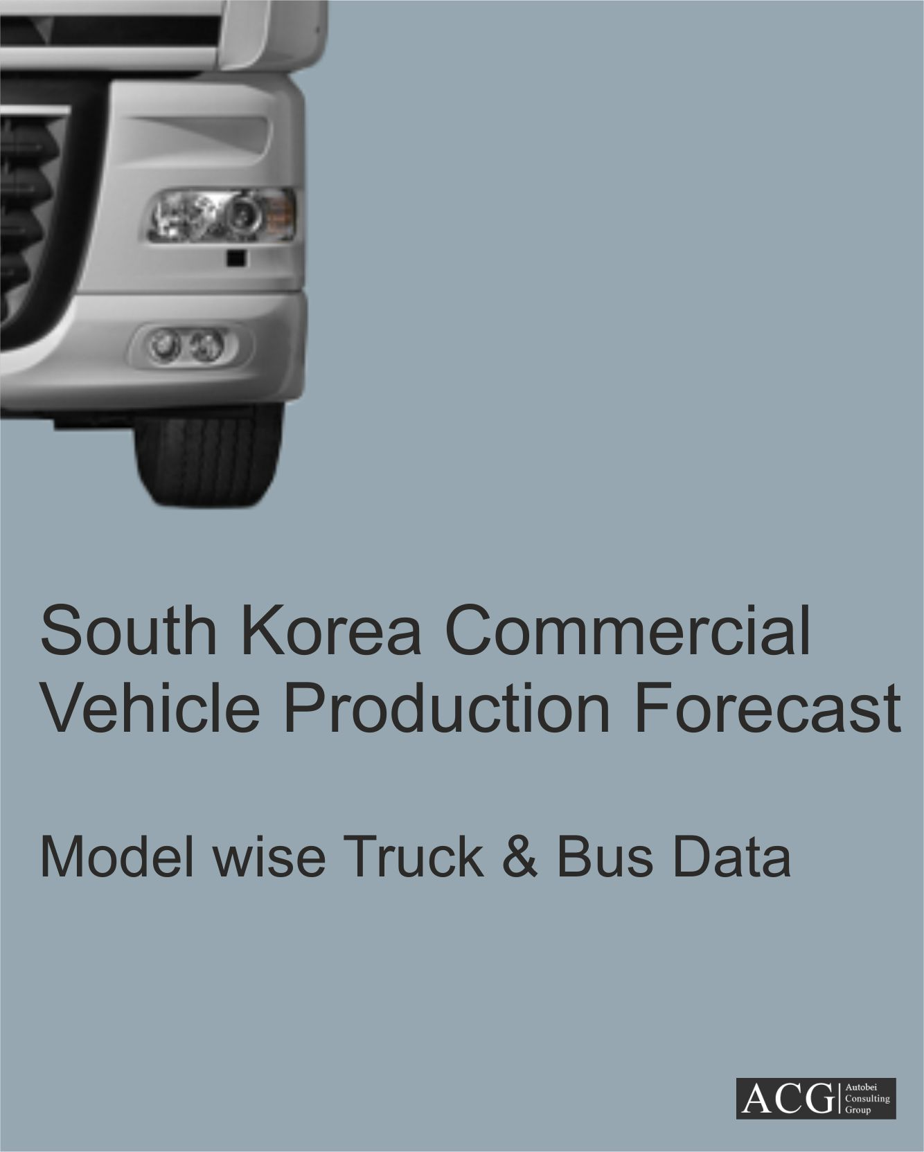 South Korea Commercial Vehicle Production Model level Trend & Forecast