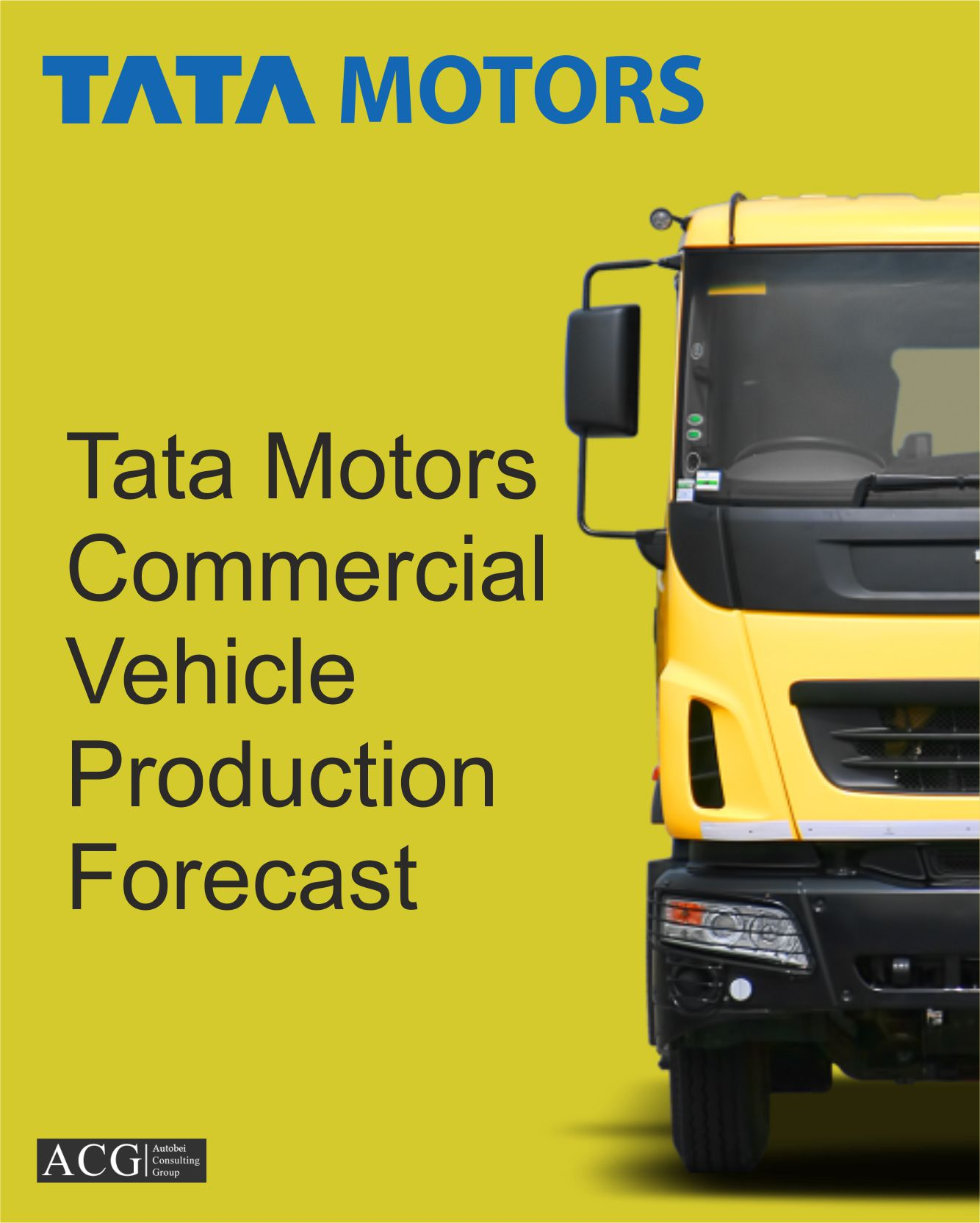 Tata Motors Truck and Bus Production Forecast