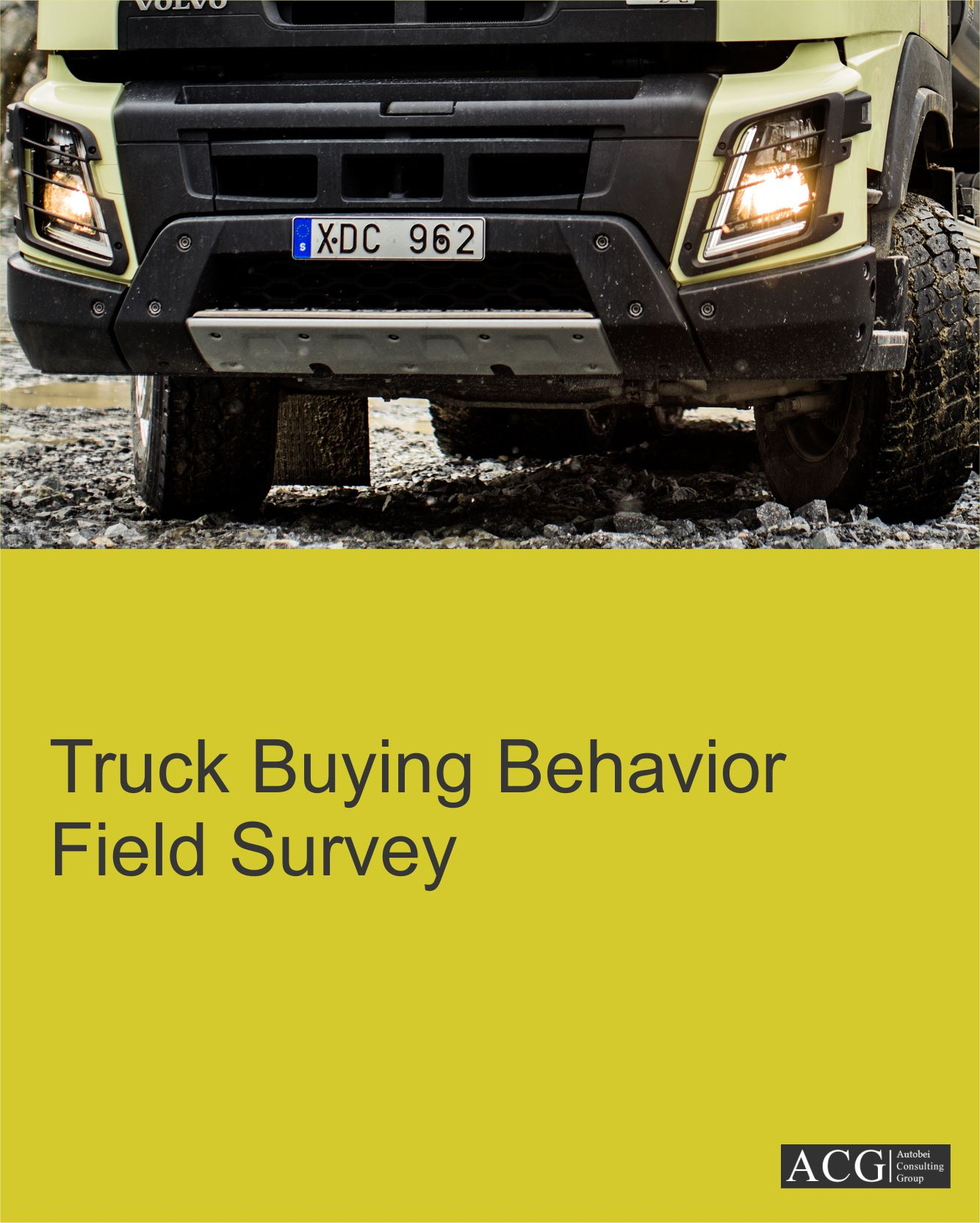 Truck Buying Behavior Field Survey