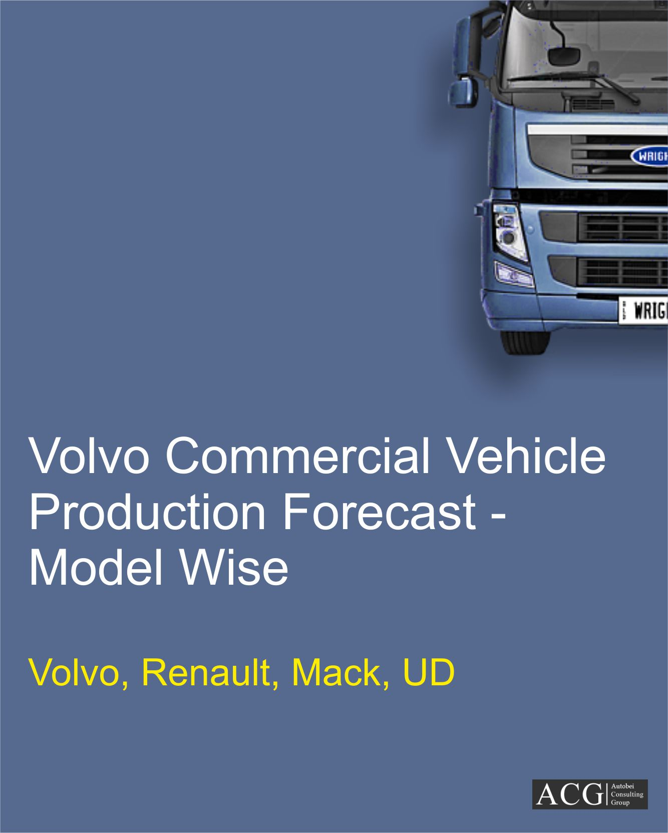 Volvo Commercial Vehicle Production Forecast